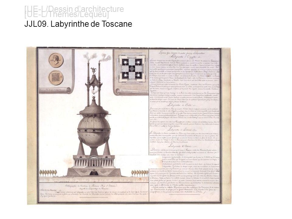 [UE-L/Dessin darchitecture [UE-L/Thèmes/Lequeu] JJL09. Labyrinthe de Toscane