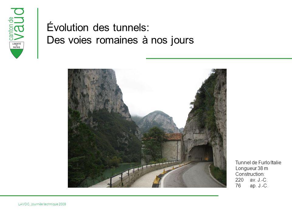 LAVOC, journée technique 2009 Évaluation du potentiel de risque: Charge du trafic Configuration du tunnel Pourcentage de poids-lourds Déclivité Configuration des portails Matières dangereuses Longueur Principe de laudit EuroTAP