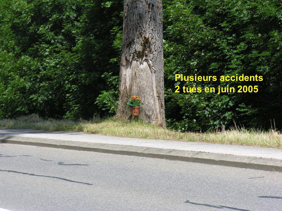 Plusieurs accidents 2 tués en juin 2005
