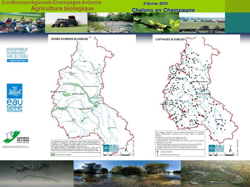 Conférence régionale Champagne Ardenne 5 février 2010 Chalons en Champagne Agriculture biologique