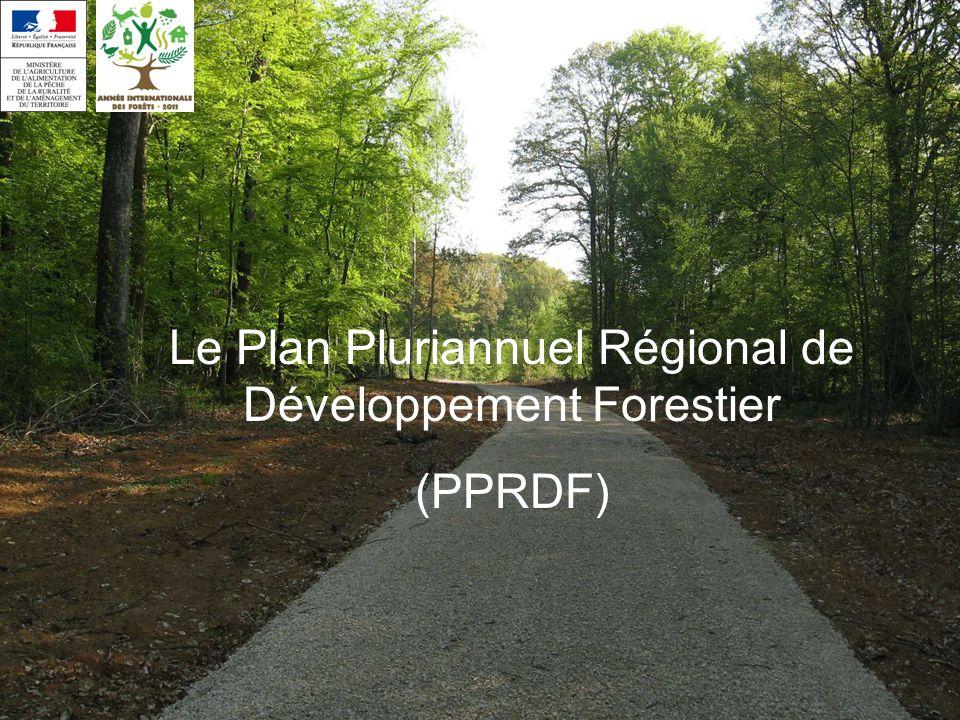 Le Plan Pluriannuel Régional de Développement Forestier (PPRDF)