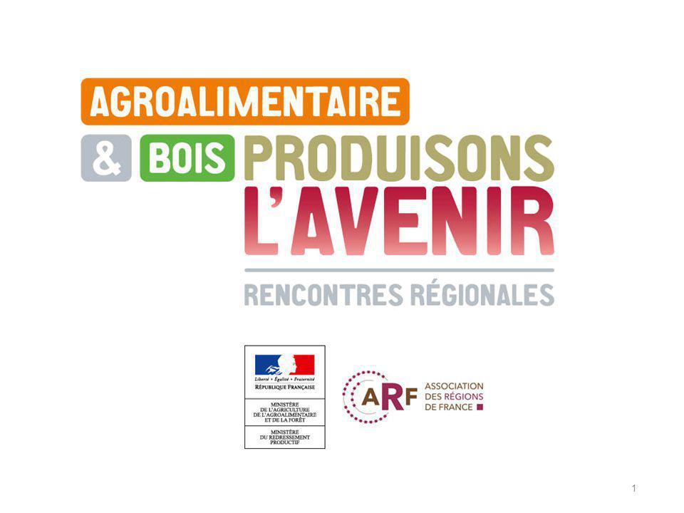 2 Alain BERGER Délégué Interministériel aux Industries Agroalimentaires et à lAgro-industrie Présentation du diagnostic national