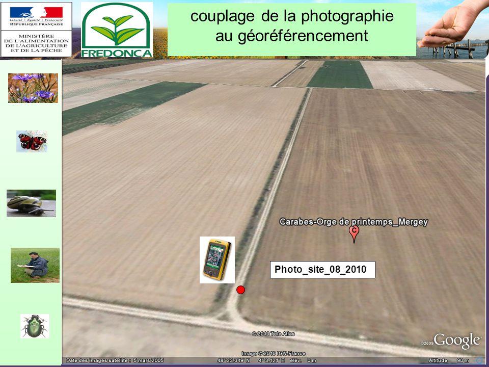 Restitution biovigilance 2010 – Chalon-en-Champagne le 10/02/11 couplage de la photographie au géoréférencement