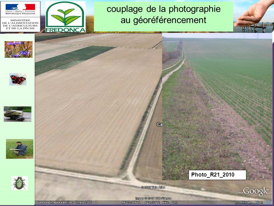 Restitution biovigilance 2010 – Chalon-en-Champagne le 10/02/11 Photo_R21_2010 couplage de la photographie au géoréférencement