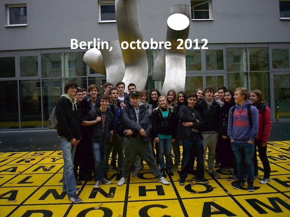 Berlin Octobre 2012 Terminale Euro Berlin, octobre 2012
