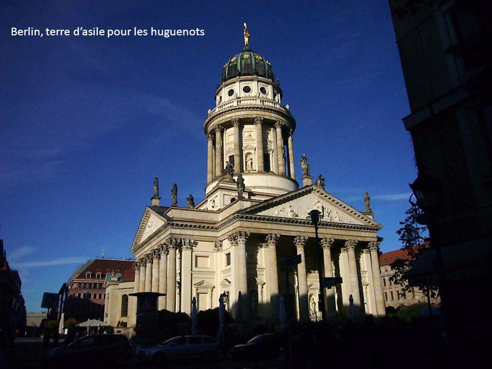Berlin, terre dasile pour les huguenots