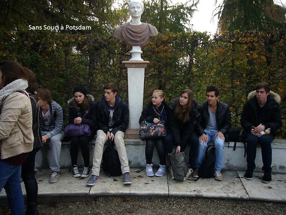Sans Souci à Potsdam