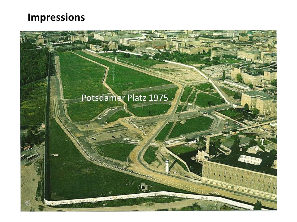 Impressions Potsdamer Platz 1975