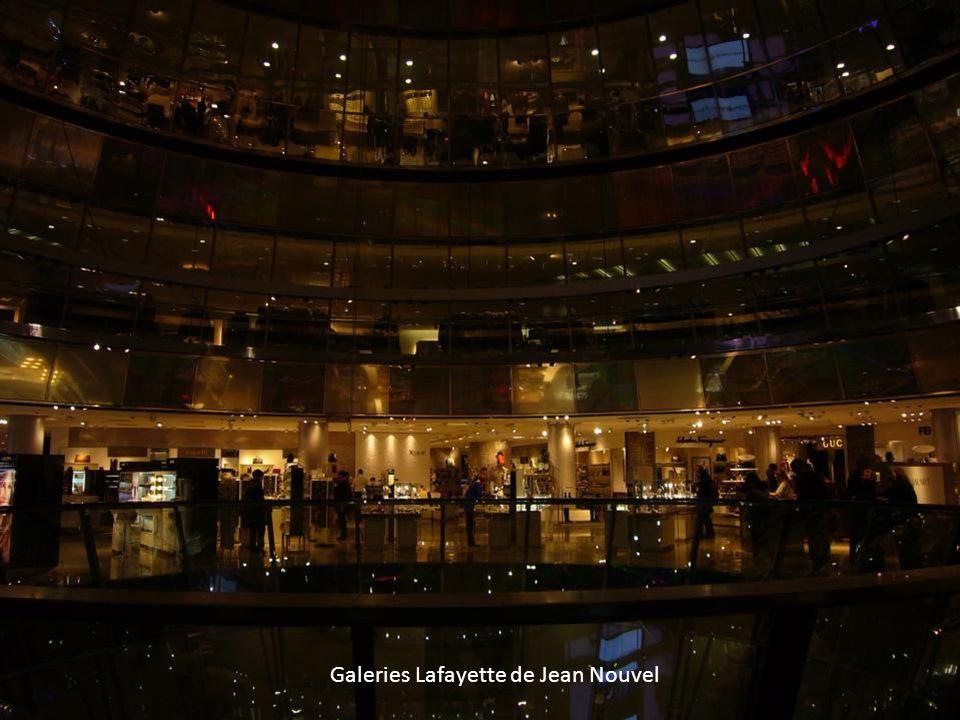 Galeries Lafayette de Jean Nouvel