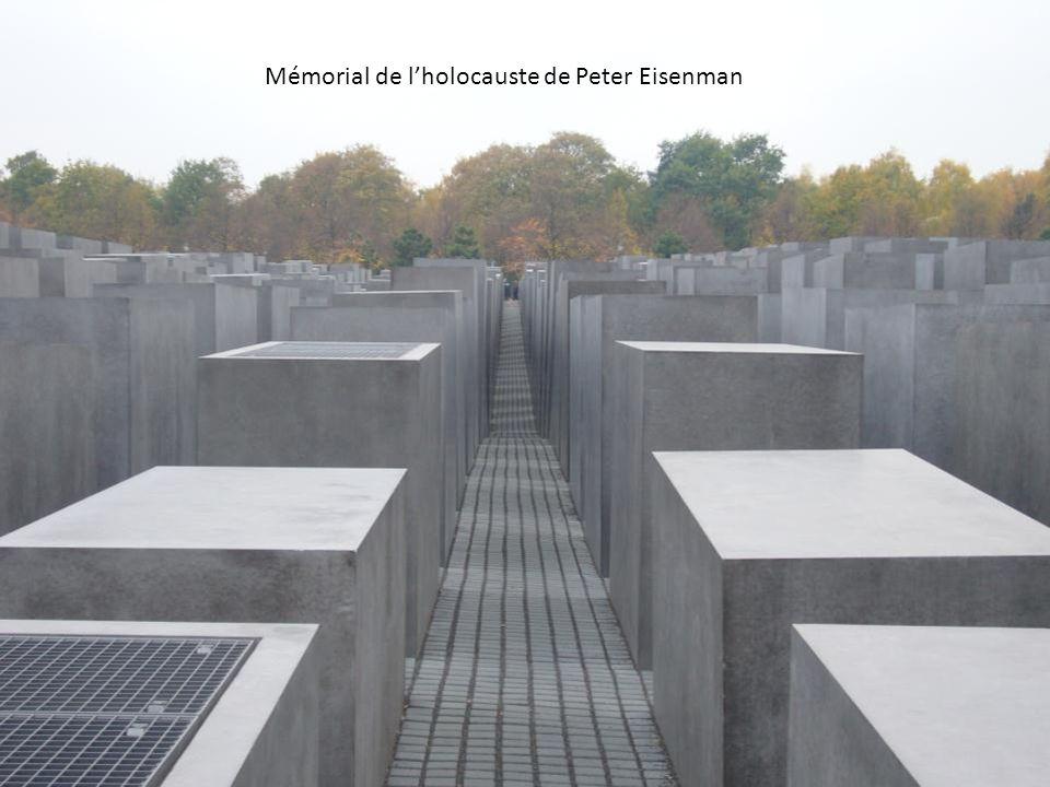 Mémorial de lholocauste de Peter Eisenman