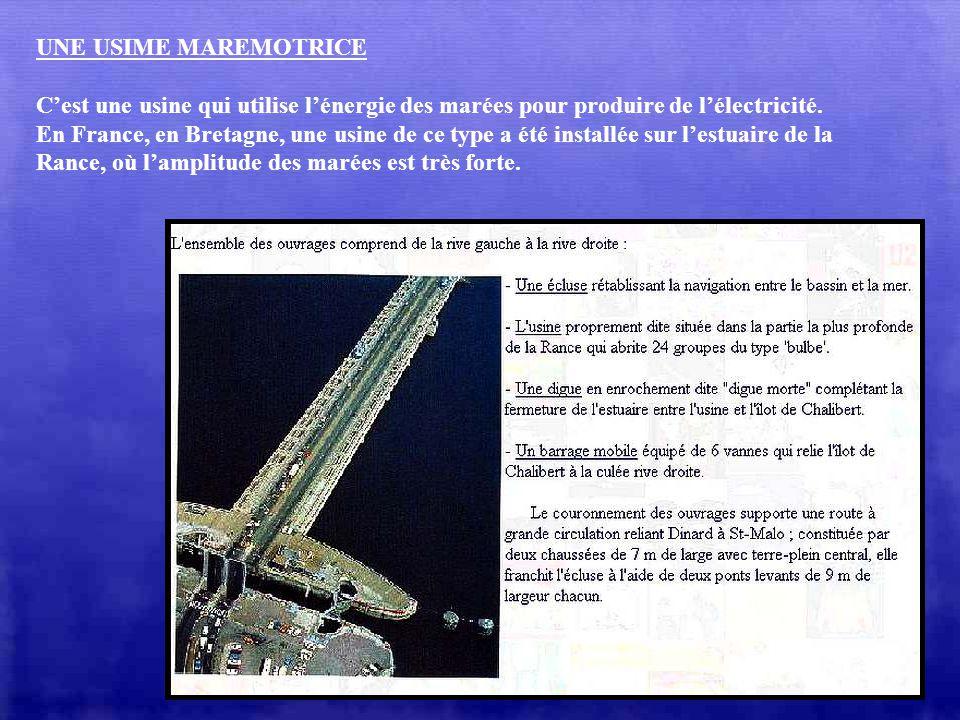 LE MONT SAINT-MICHEL (France) Dans la baie du Mont Saint-Michel, les marées les plus importantes peuvent avoir une amplitude de 16m ! A marée haute, l
