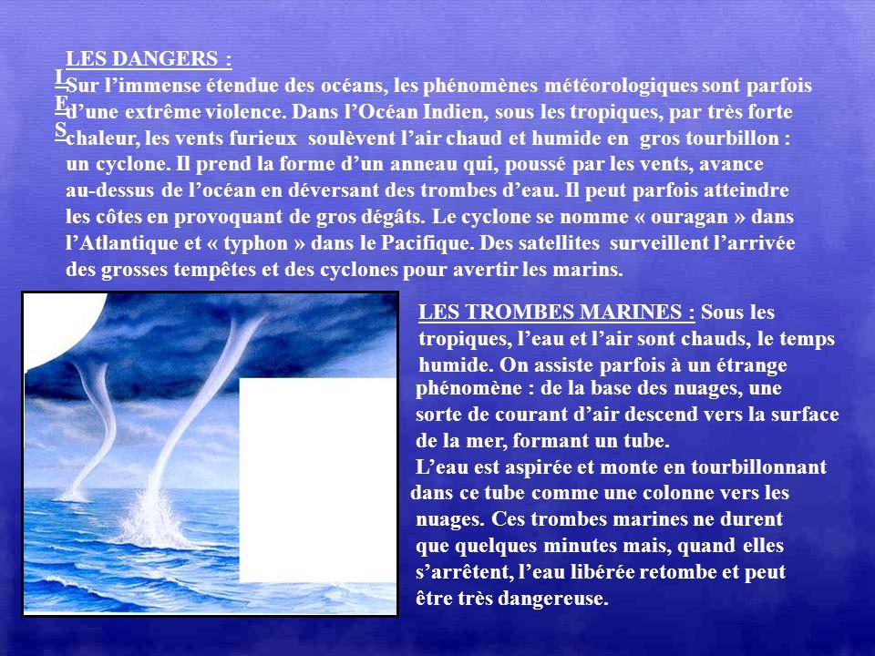 LEXPLOITATION DU PETROLE Les fonds marins sont parfois riches en pétrole. On pratique alors des forages en pleine mer. De la plate-forme de production