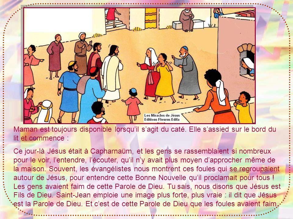 - Mais Jésus navait pas besoin de pardonner les péchés du malade, pour quil soit guéri .