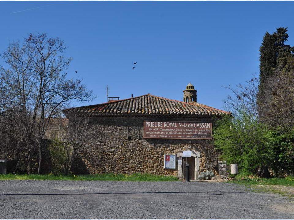 Le prieuré de Cassan, également appelé abbaye de Cassan ou château de Cassan, est un édifice du XVIIIe siècle classé au titre des monuments historiques.