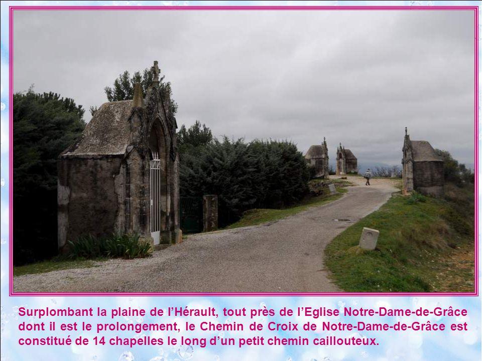Léglise Notre-Dame-de-Grâce à Gignac est installée sur un lieu qui dispose dune grande variété de traditions et dhistoires.