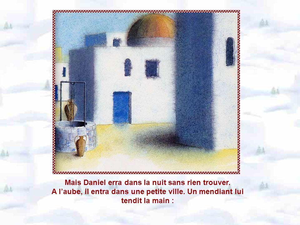 Mais quand Daniel voulut partir, le loup se saisit encore du pan de son manteau et leva vers lui ses beaux yeux mordorés.