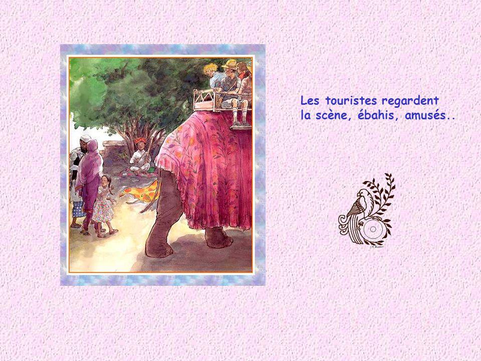 Shyam entend les cris : « Au voleur ! Au voleur ! Ne le laissez pas séchapper ! »