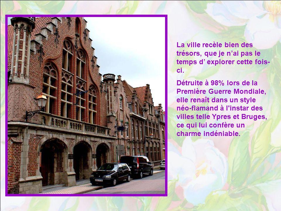 Vous le voyez : les villes du Nord de la France nous offrent une archi- tecture et une beauté totalement différentes de ce que nous avons lhabitude de