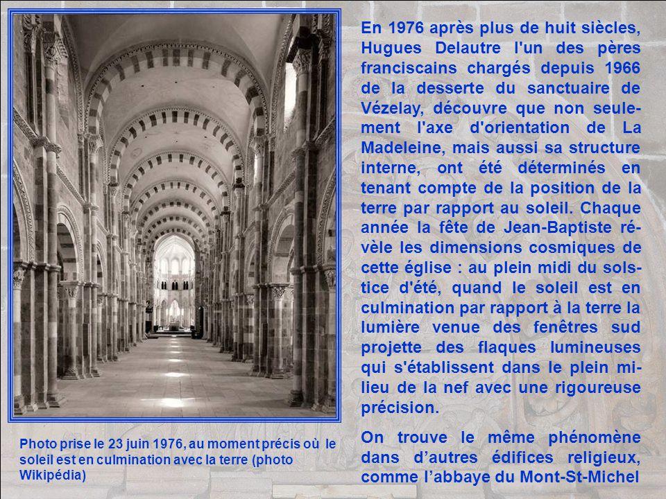 Comment oserai-je vous avouer ma méprise ? Ce jour-là, en franchissant limposant portail de la basilique Sainte-Marie-Madeline à Vézelay, je fus terri
