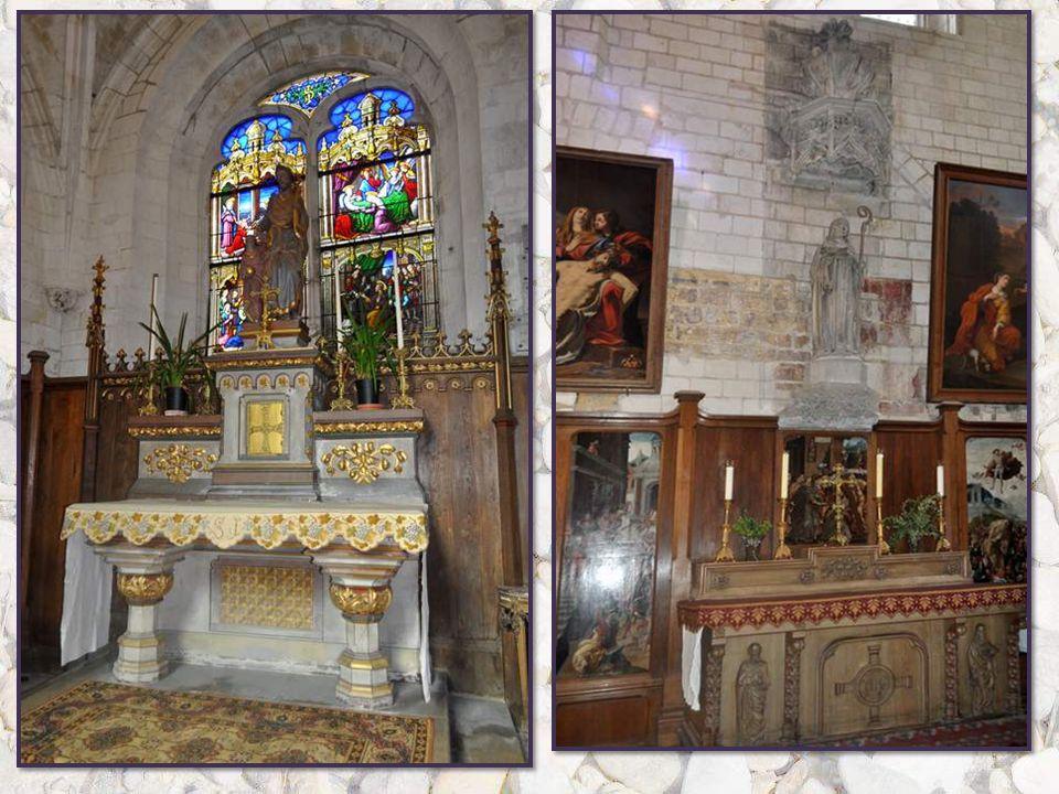Cette tête de Christ provient d'un Ecce Homo Qui se trouvait derrière le chœur de l'église de Saint Rémi dans une niche. Il était regardé comme un che