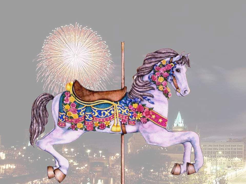Et cest mon cheval cependant Qui est le premier du manège.