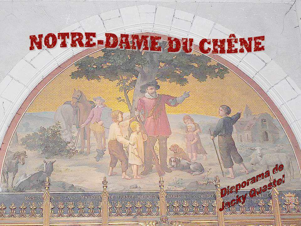 Avec les guerres de religions, la chapelle est assez rapidement en ruines.