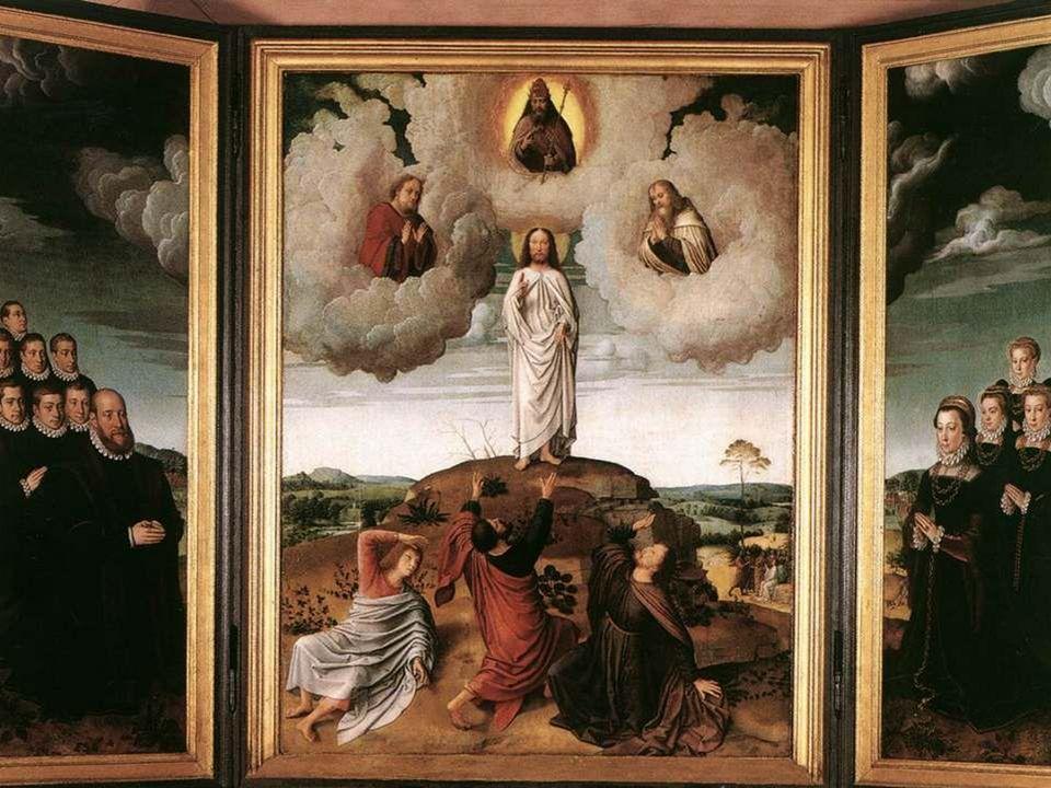 Aujourd'hui, revêtu de lumière Jésus, Tu révèles ta gloire aux témoins Choisis par le Père.