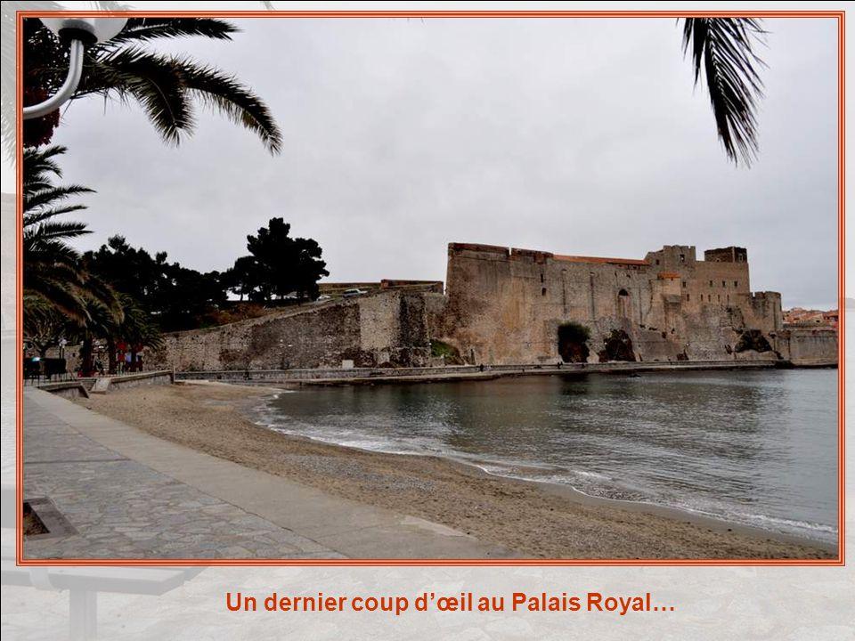 Une vue de Collioure prise du Palais Royal…
