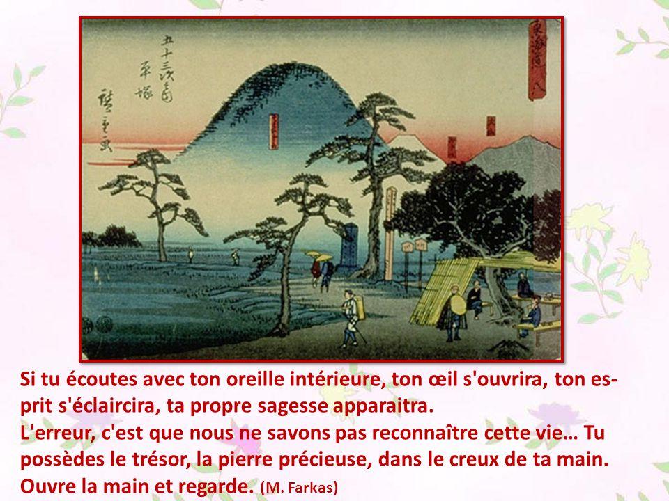 De quelle couleur est le vent .(parole zen) Pourquoi se tracasser pour de vains problèmes .