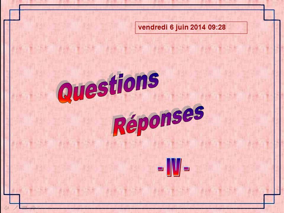 vendredi 6 juin 2014 09:30