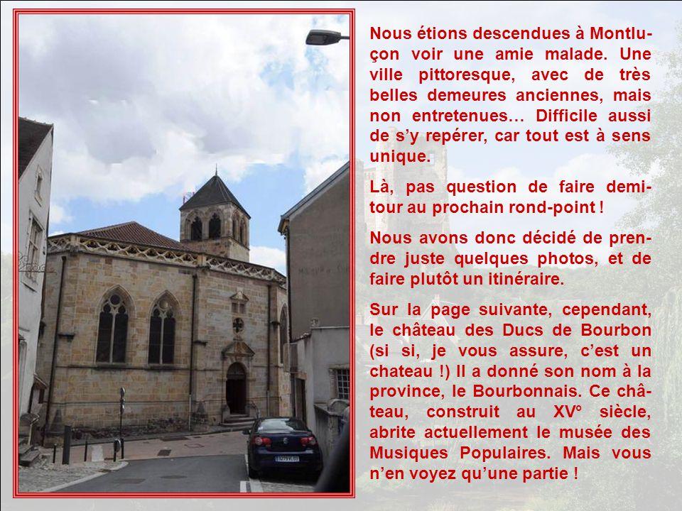Vite, voler quelques photos à Montluçon avant de repartir…