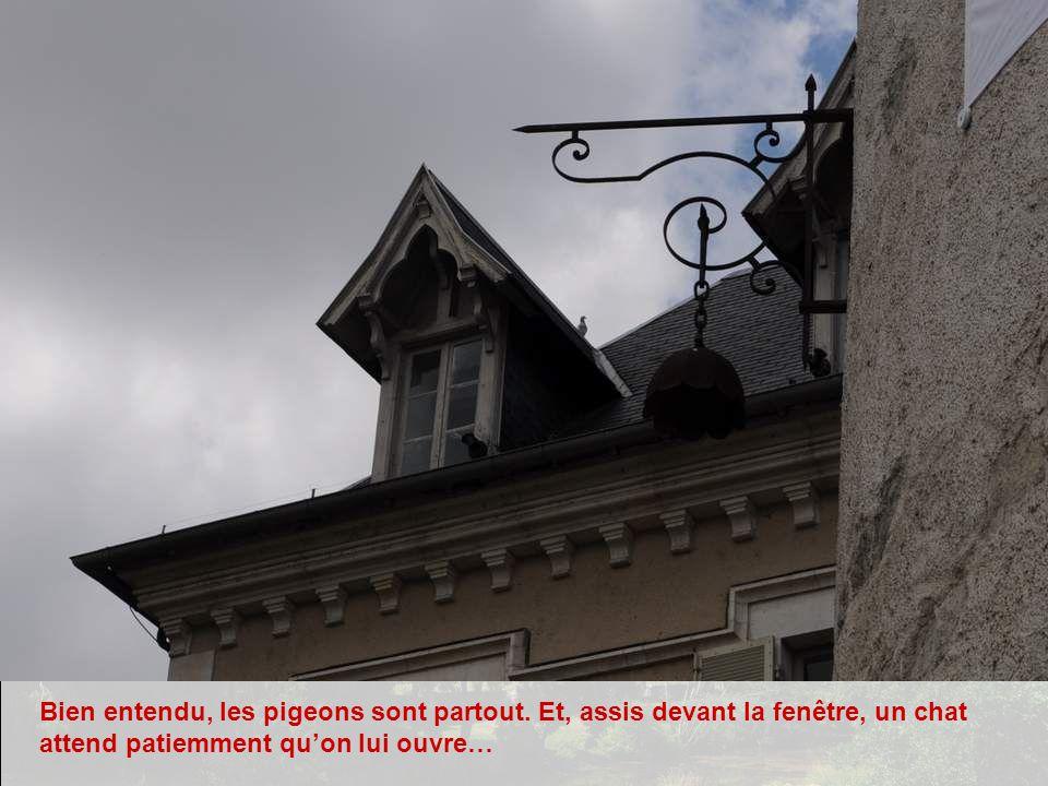 Montluçon a une vile médiévale, mais qui nest accessible quà pied. Cependant on trouve de beaux édifices comme celui-ci en dehors de ce périmètre.