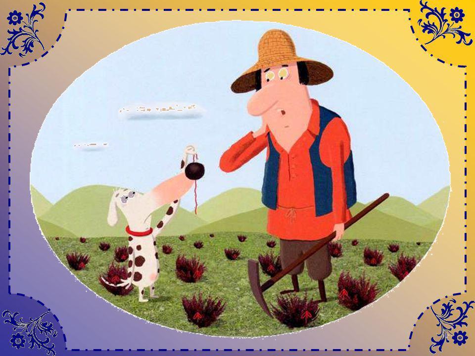 En effet, lorsque Tom revient tout essoufflé – cest loin, chez lui ! – il a bien la pioche, mais… où creuser ? Il croit avoir la berlue ! Sur la lande