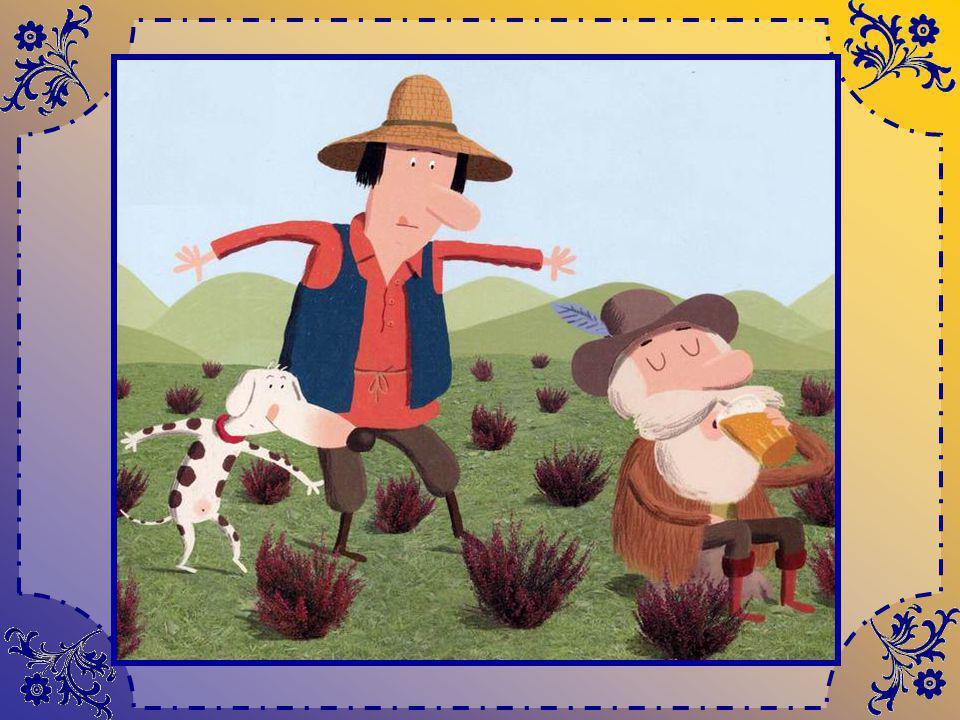 Un jour que Tom le berger se promène sur la lande, il entend de petits bruits derrière une colline. Intrigué, il sapproche, doucement, tout doucement…