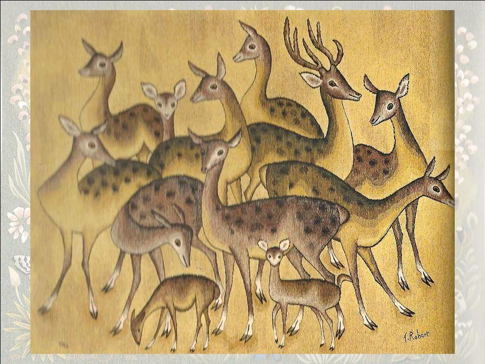 Tapisserie, atelier Goubely, Aubusson 1961, 210x300 Dom Robert avait une prédilection pour lHerbe Haute et parlait moins de Mille fleurs sauvages qui