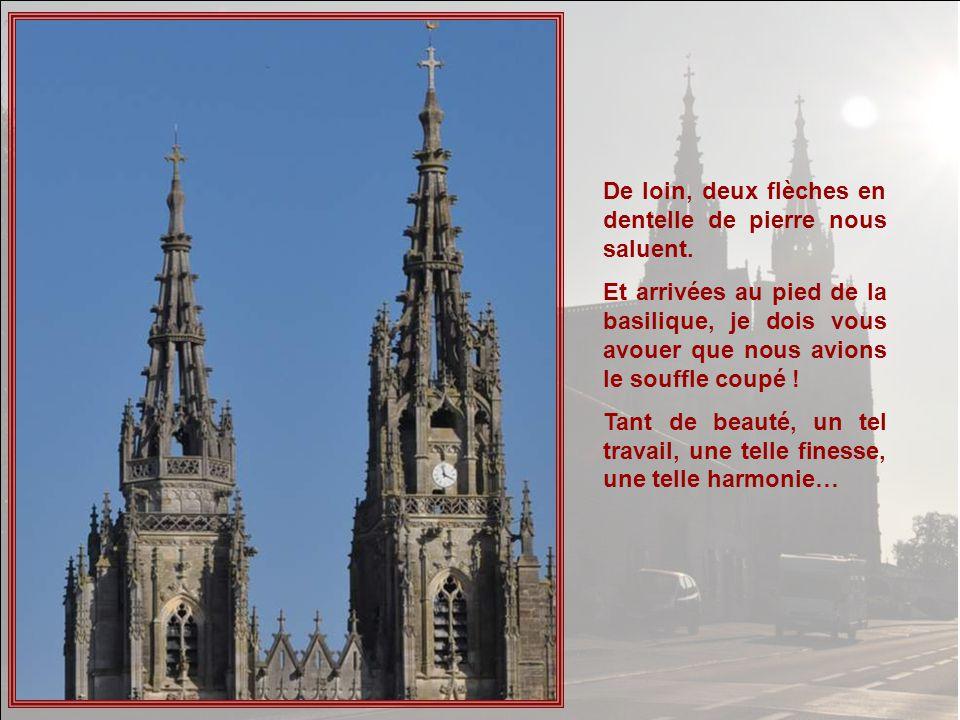 Un de mes correspondants cana- diens mavait parlé, à plusieurs reprises, de la basilique de Notre- Dame de lEpine, me conseillant dy aller faire une visite.