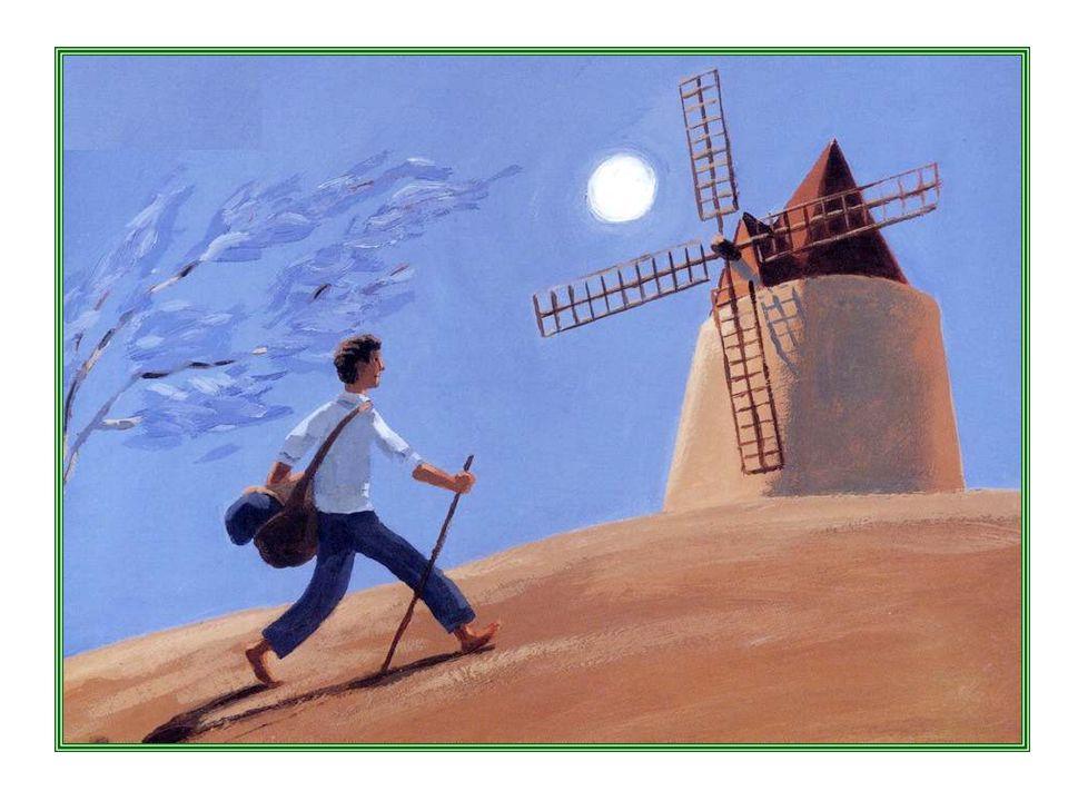 Il était une fois un moulin hanté.