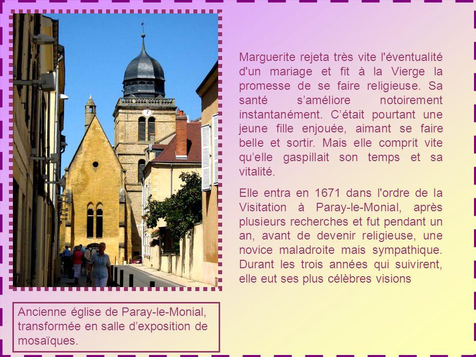 Le couvent des Visitandines, à lombre de la Basilique du Sacré- Cœur.