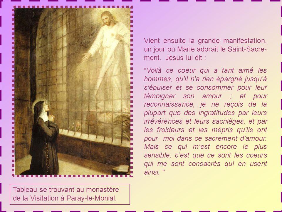 Chapelle de la Visitation à Paray-le- Monial.