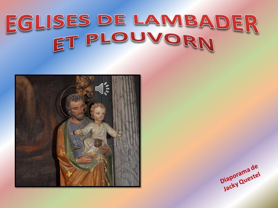 Nous avons quitté l Eglise notre-Dame de Lambader pour nous rendre juste à côté, à l église Saint-Pierre-de-Plougorn