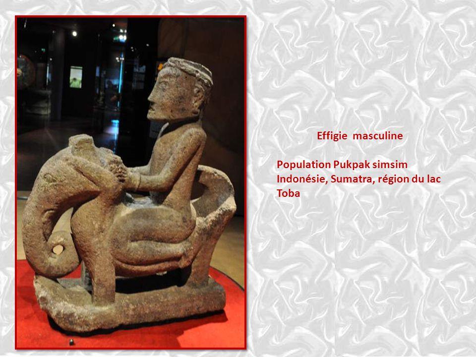 Tambour de bronze – Java – 4è siècle avant J. C. – 2è siècle après J. C. Cours moyen de la rivière Susuwa Une civilisation rayonne en Asie du Sud-Est