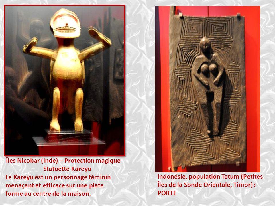Insulinde – Protection magique Les danses masquées Hudoq sont liées aux fêtes agraires, lorsque la moisson du riz est entreposée dans les greniers. El