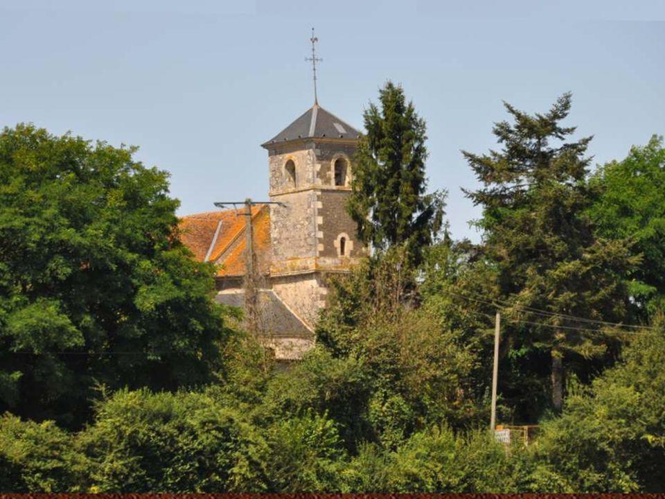 L église de Saint Aubin-les-Forges.
