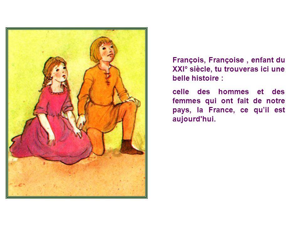 Mon amie Tite Pomme ma offert un merveil- leux petit livre : Première Histoire de France, édité par Gautier-Languereau.