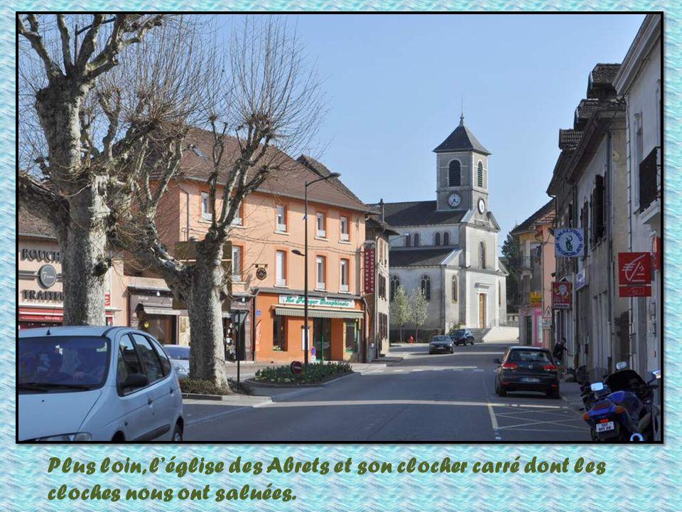 Toit typique du Dauphiné, dans la région des « Terres Froides ».