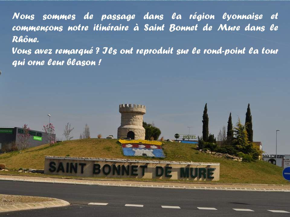 St-Bonnet de Mure (69) – Bilieu (38) 65 km… 3 H