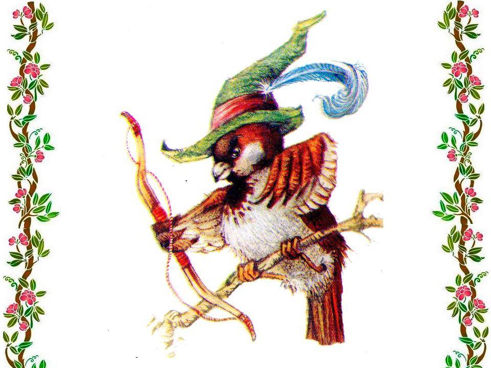 Qui a tué le rouge-gorge ? Cest moi, dit le moineau. Jai mis mon beau chapeau Et jai tué le rouge-gorge.