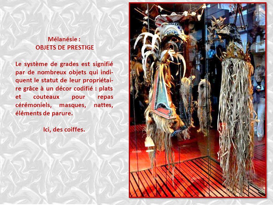 Mélanésie, les grades au Vatuatu FIGURES DE FANTÔMES Sur l'île de Maiokulia, les exploits des héros mythiques sont inter- prétés par des marionnettes