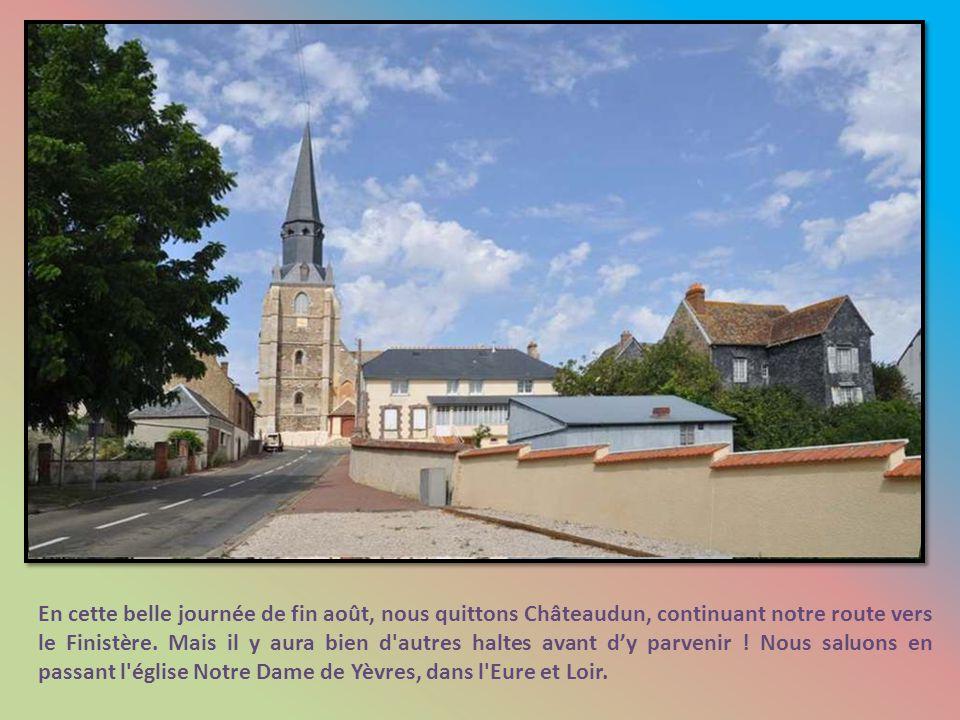 Chateaudun – Alençon : 118 km - 5 h