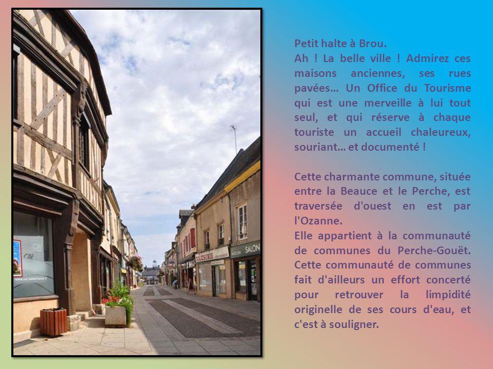 L Eure Le Loir Non, l Ozanne, qui traverse paresseusement la cité.